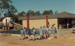 History photo, primary building