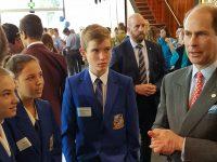 Students meet Prince Edward