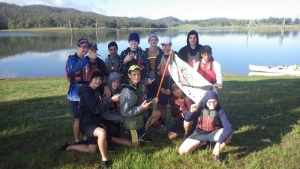 Year 9 Camp students