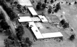 History photo, aerial view