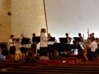 Music Department performing