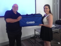 Mr Minns presented with calculators