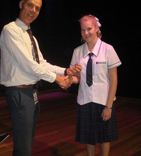 Cheyanna Wilson, QUT Future Leaders Program Awardee