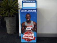 Coles sports for schools box