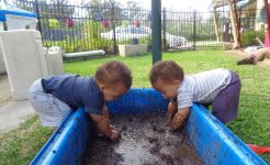 Children at the Early Learning Centre