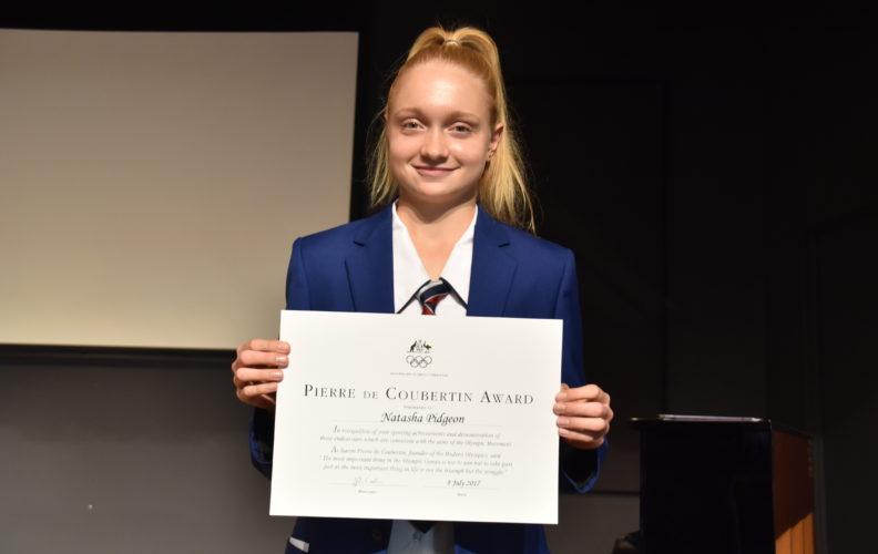 Student Athlete Natasha