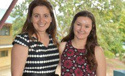 Peer Mentoring student and teacher