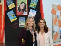 Author Samantha Wheeler and Mrs Mamata