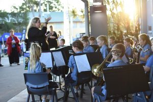 Student performance at Open Night