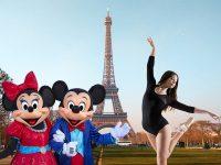Dancing at Disneyland