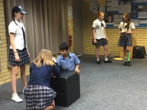 Students learn to counteract bullying