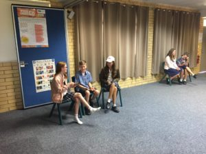 Students learn to counteract bullying through acting