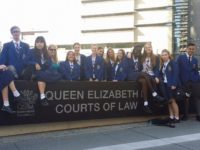 Students on Court Excursion