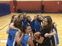 Girls ASSA basketball team