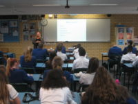 Health presentation for Year 11 students