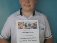 Student who completed Trade Taster
