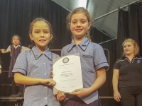Music students receive award