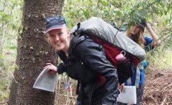 Duke of Edinburgh student backpacking
