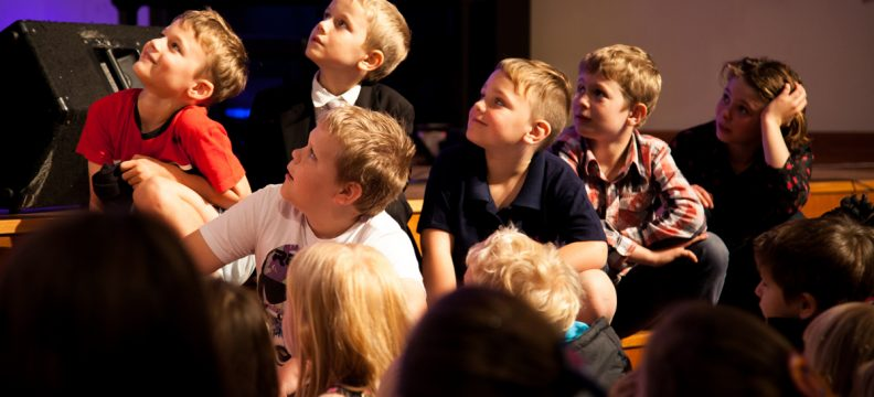 Children at Refresh